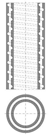 Ringspalt-Model