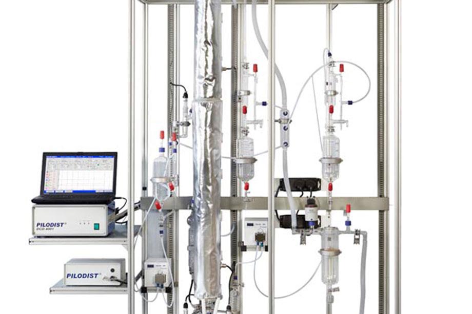 semi-micro distillation